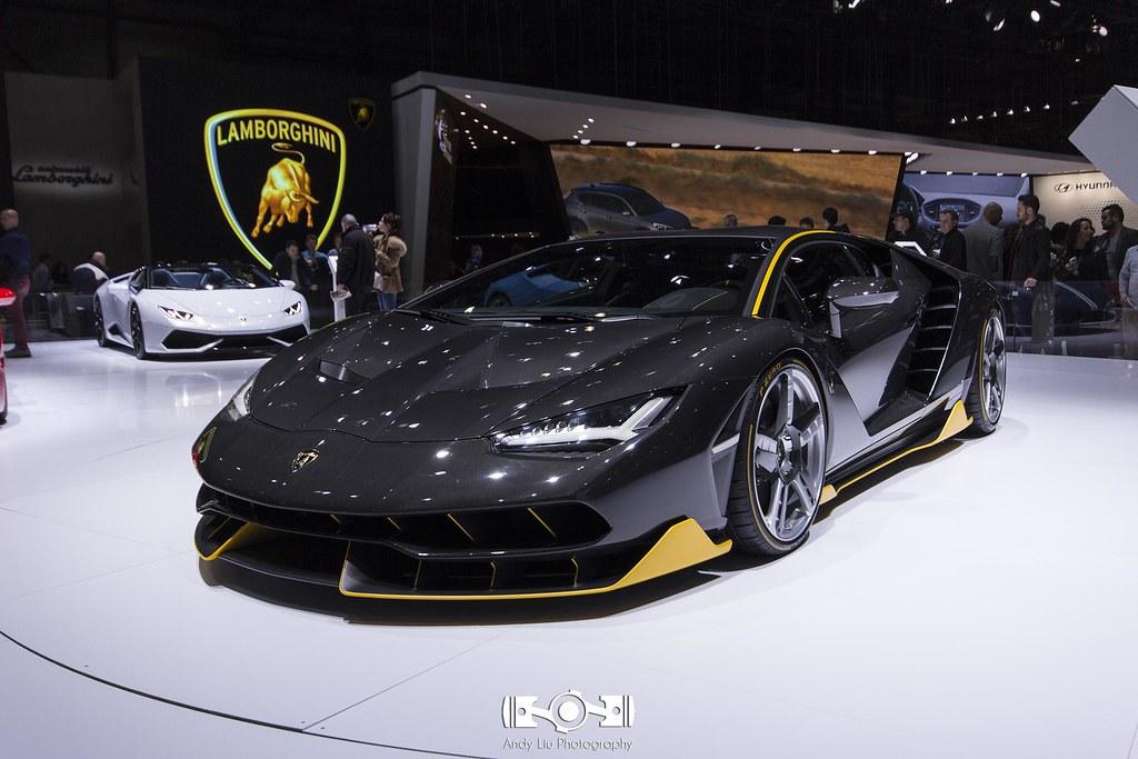 Lamborghini Centenario, anyone?