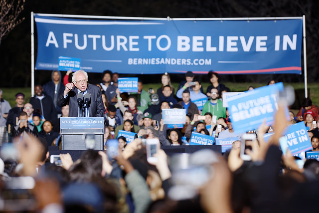 Bernie Sanders in the South Bronx March 31st 2016 by Michael Vadon