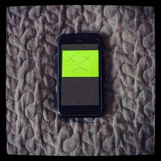 Today we pay tribute to our fallen comrade HTC Incredible S, which passed away after 4,5 years of loyal service. It will be sorely missed, replacement will be hard to come by. For #365days project.