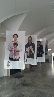 Presentation of the Slovene EuroVision Lab exhibition in the Museum of Contemporary History Celje, Slovenia