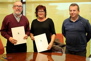 Signatura Conveni Club Deportiu Roquetenc