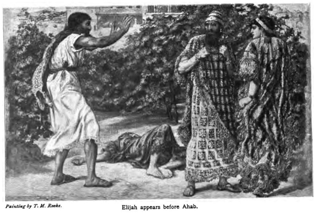 Hebrews - Elijah Appears Before Ahab