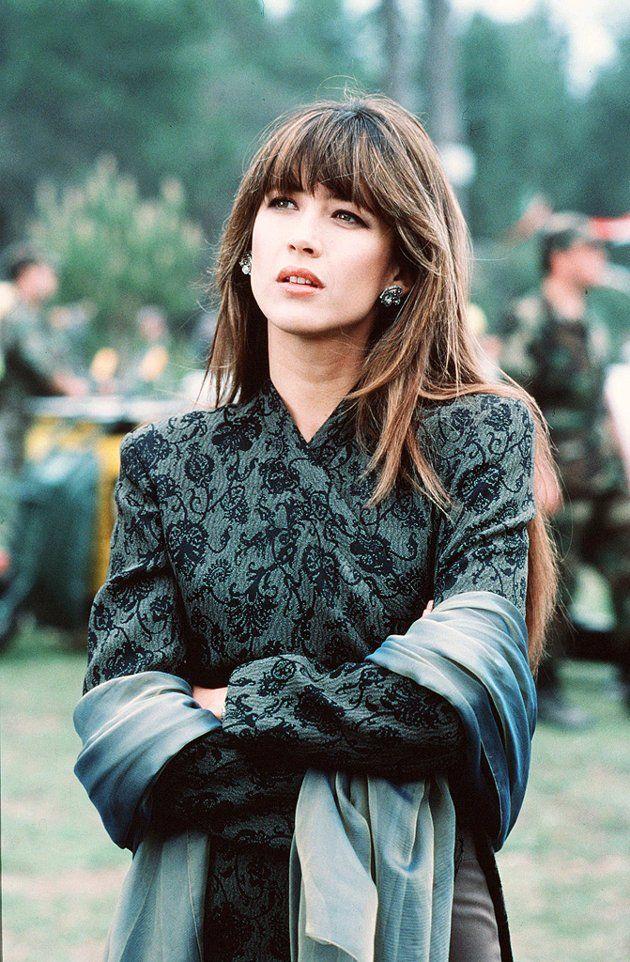 Актриса Софи Марсо в роли девушки Бонда