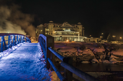 The Springs at Night