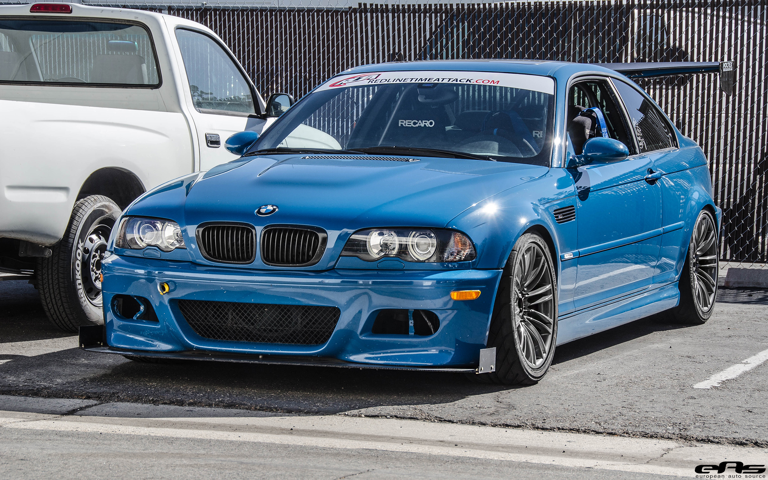 Time Attack Laguna Seca Blue E46 M3 Bmw Performance Parts Services