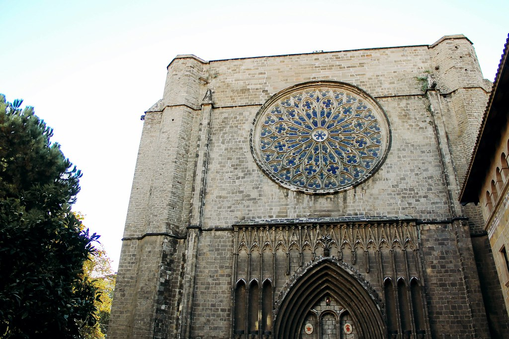 Drawing Dreaming - visitar Barcelona - Santa Maria del Pi