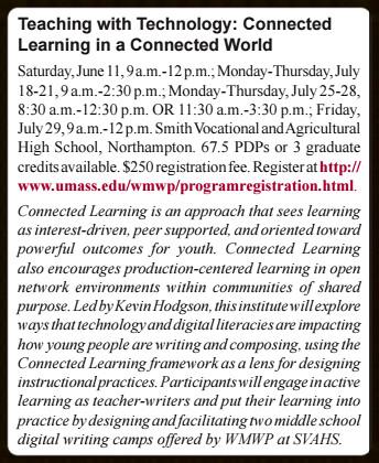 Summer Connected Course Description