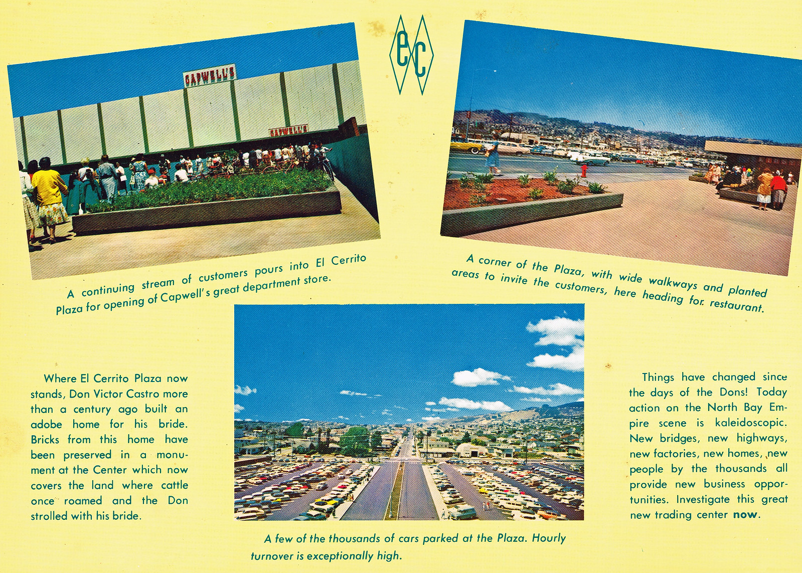 ec plaza promo card 1961a
