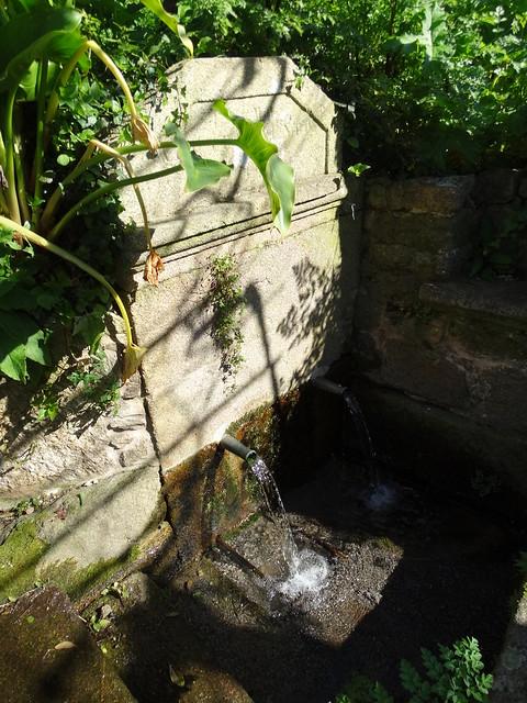 Fuente de Linteiros en Miñortos