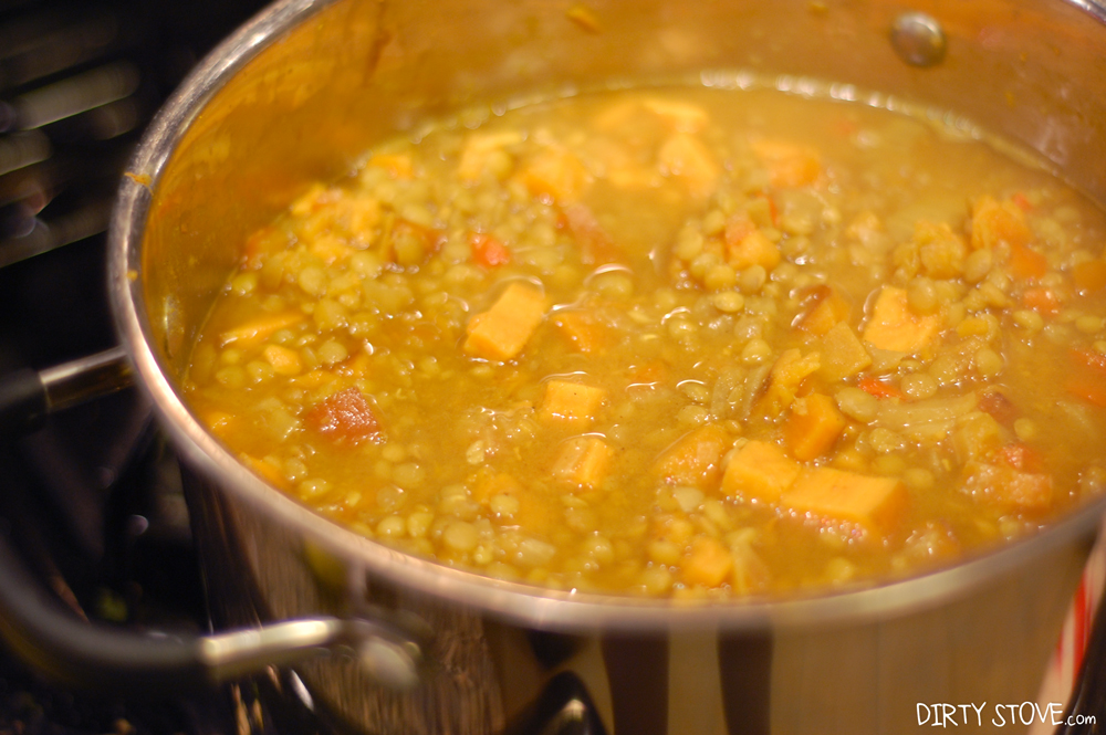 Plant-Strong Lentil Ginger Stew