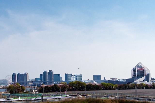View Odaiba from Harumi : 晴海よりお台場を望む
