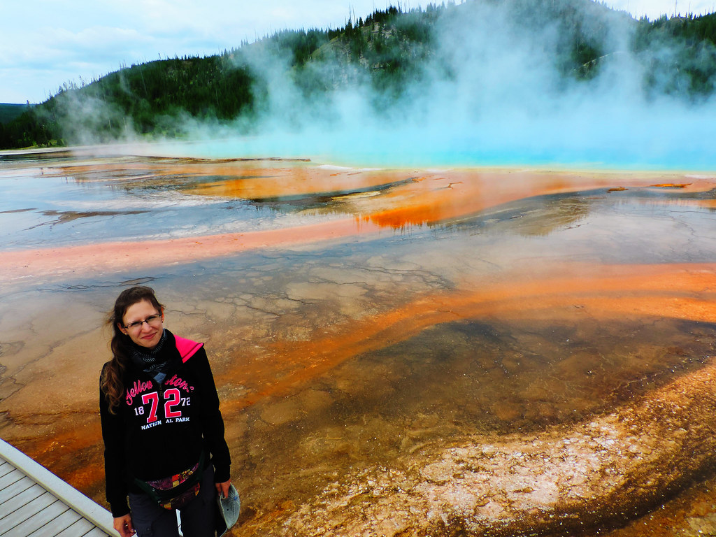 How To Create That Perfect Travel Itinerary: Grand Prismatic Spring, Yellowstone National Park, USA