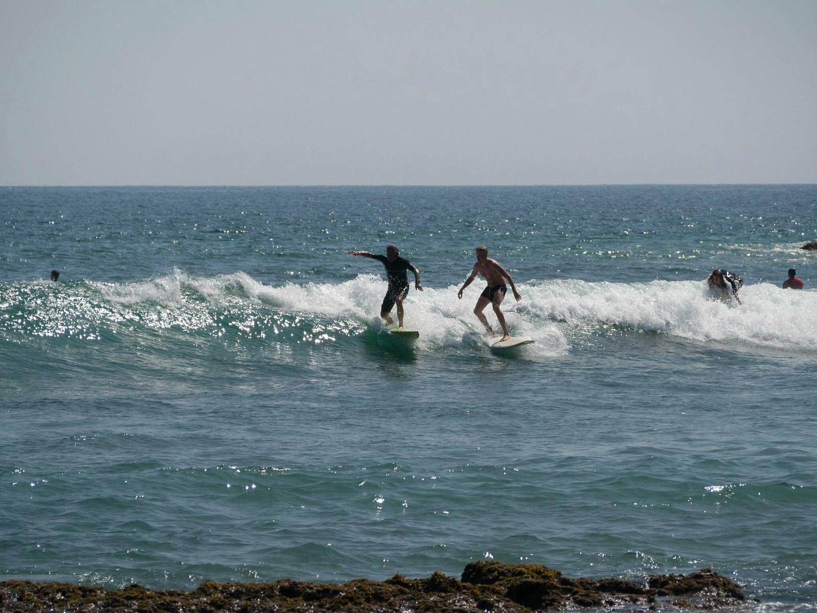 Surfing Mirissa