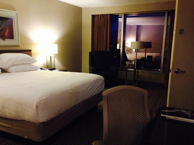 Hyatt Regency Albuquerque Junior Suite Bedroom
