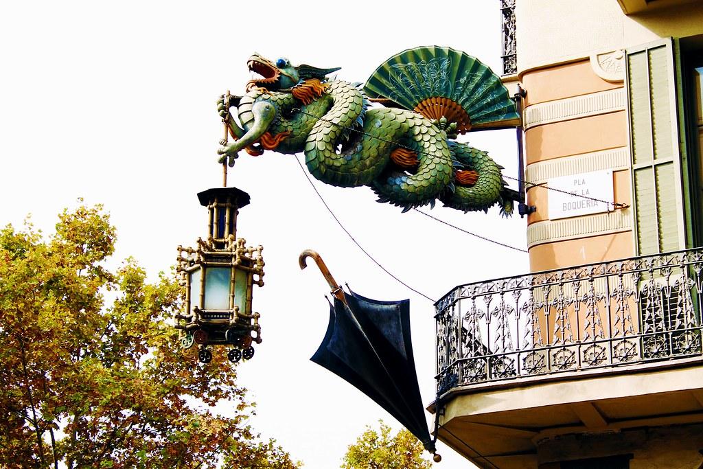 Drawing Dreaming - visitar Barcelona - Las Ramblas