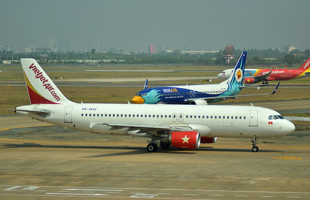 VietJet Air Airbus A320-200 [VN-A692] - Ho Chi Minh Airport
