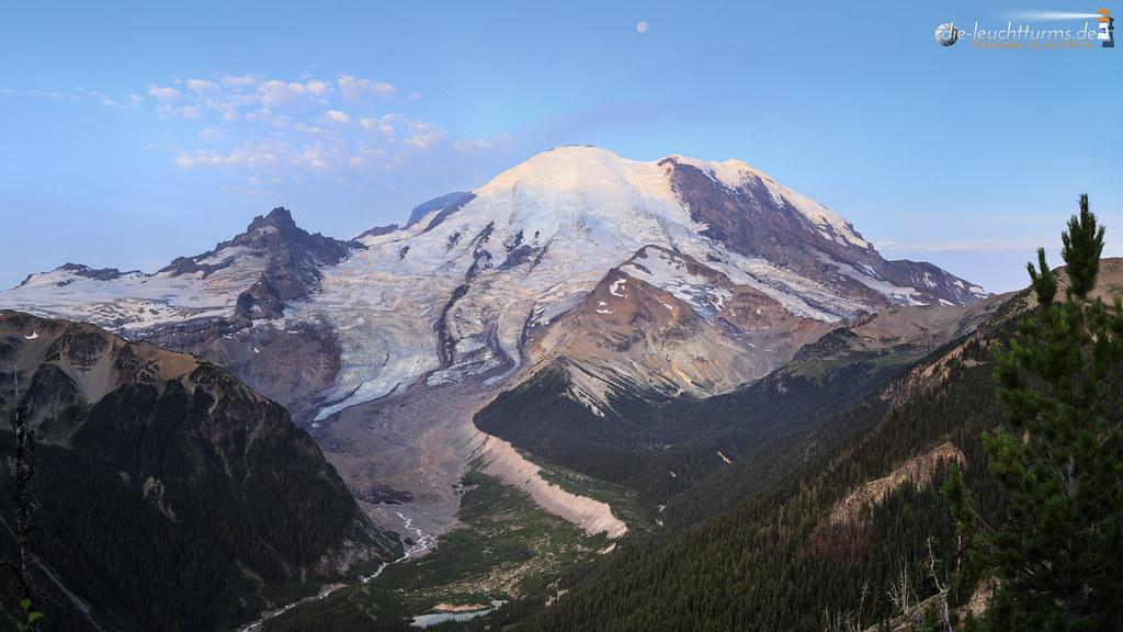 Mount Rainier and Emmons Glacier