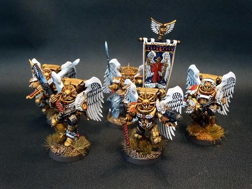 Warhammer 40K - Blood Angels Sanguinische Garde