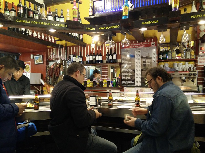 Inside Tapas Bar - WithLocals Madrid Tapas Tour