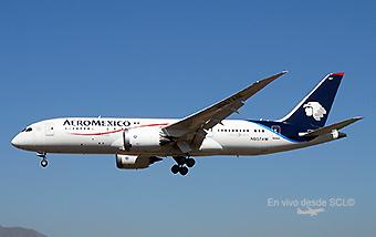 Aeroméxico B787-8 N967AM (RD)