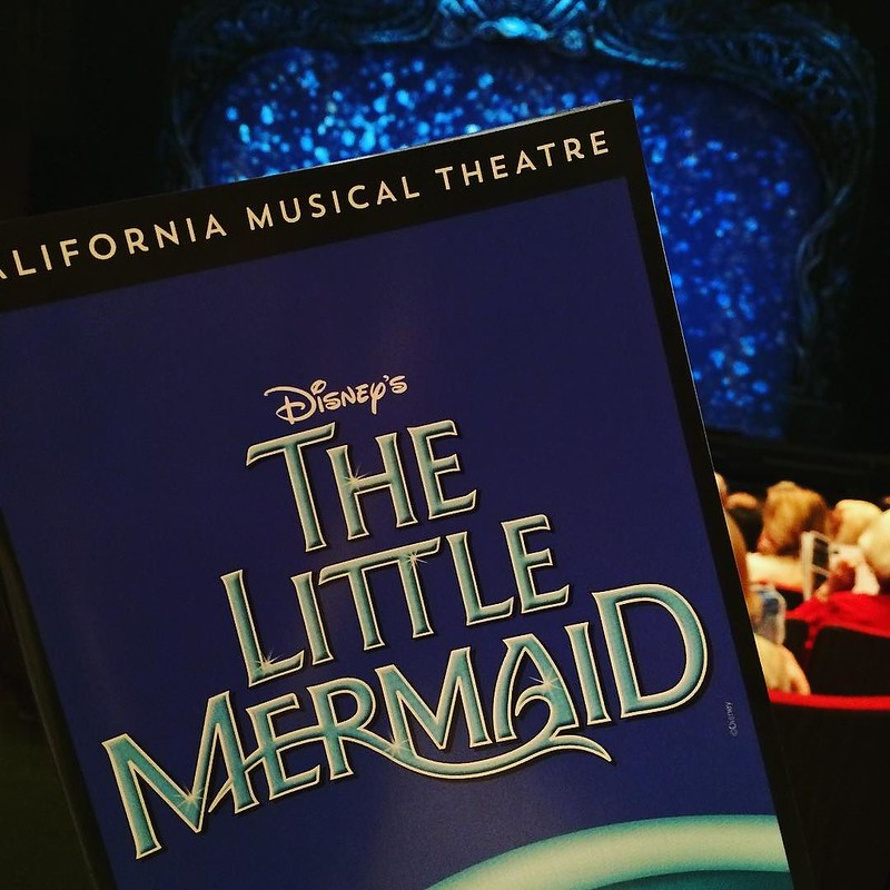 Can't get any better than seeing my favorite movie-turned-musical on my birthday! The kid in me is beyond stoked! #mermaidsandmusicals #thelittlemermaid #sacmusicals