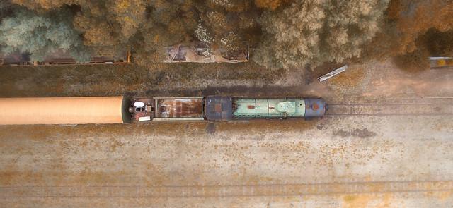 Old steam train, Pemberton,Western Australia