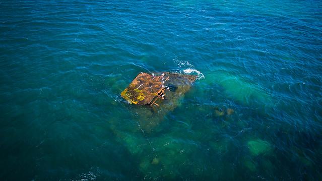 The Alkimos shipwreck, Western Australia