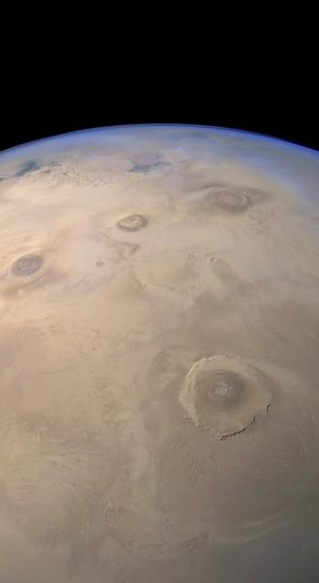 Mars Express HRSC - Tharsis Region