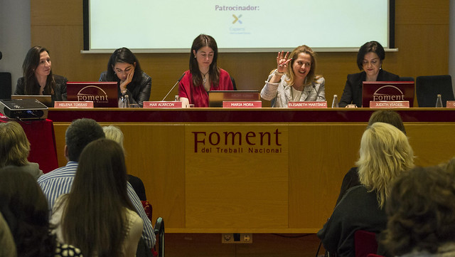 Sessió sobre lideratge de la dona a l'empresa