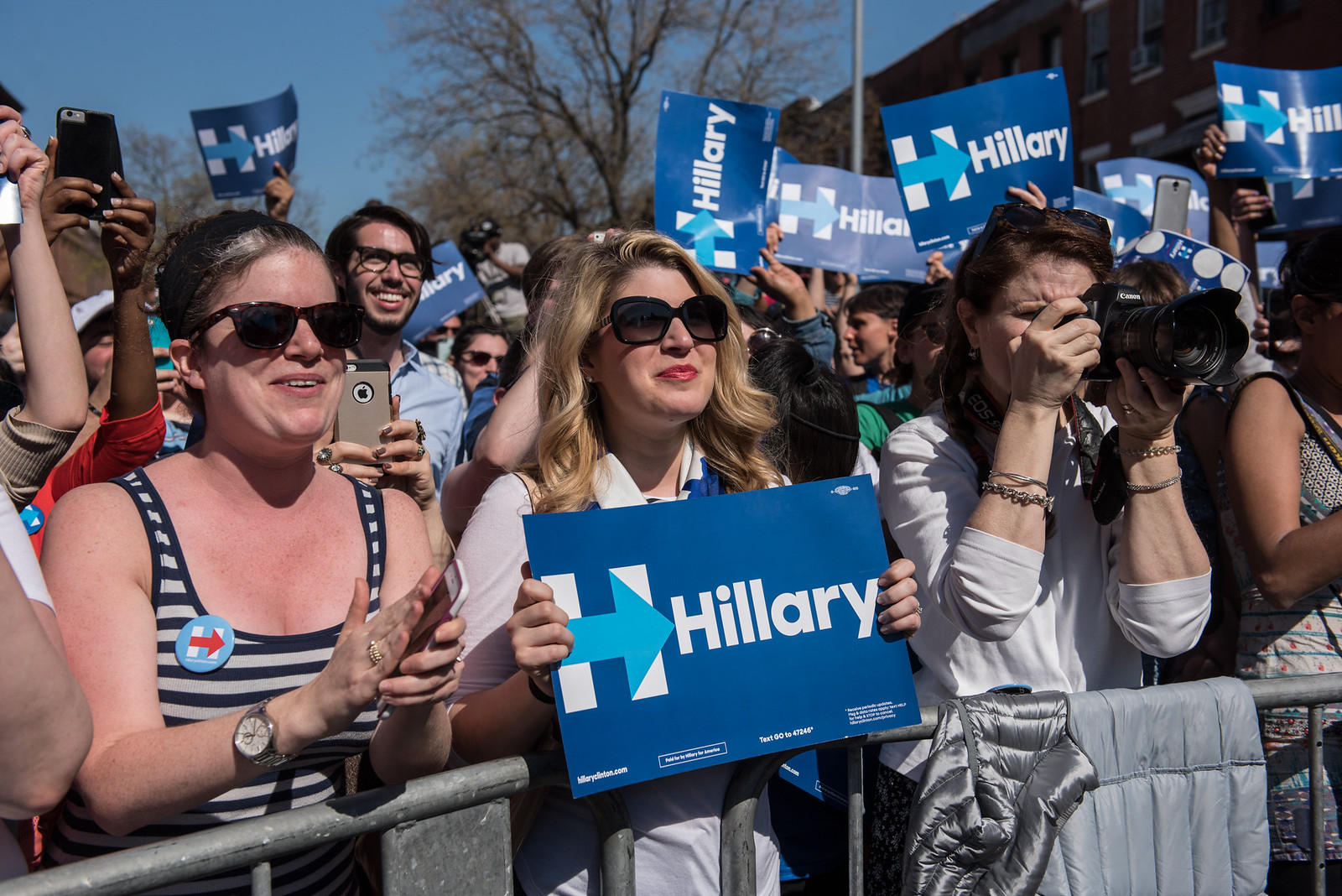 April 17, 2016 - New York, New York | by Hillary Clinton
