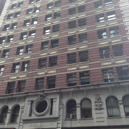 St James Building, NYC aug2015. Nueva York