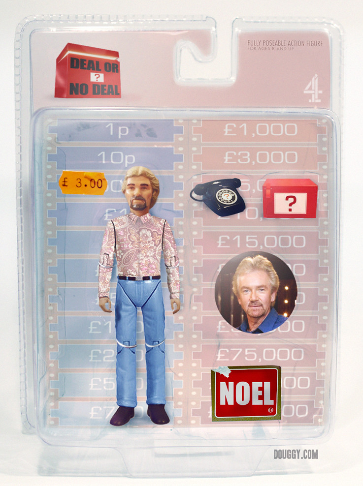 Amazing action figure concepts by Douggy - Deal or No Deal Noel Edmonds