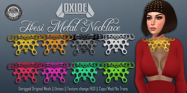 OXIDE Hesi Metal Necklace