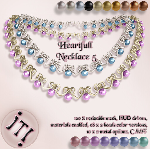 !IT! - Heartfull Necklace 5 Image