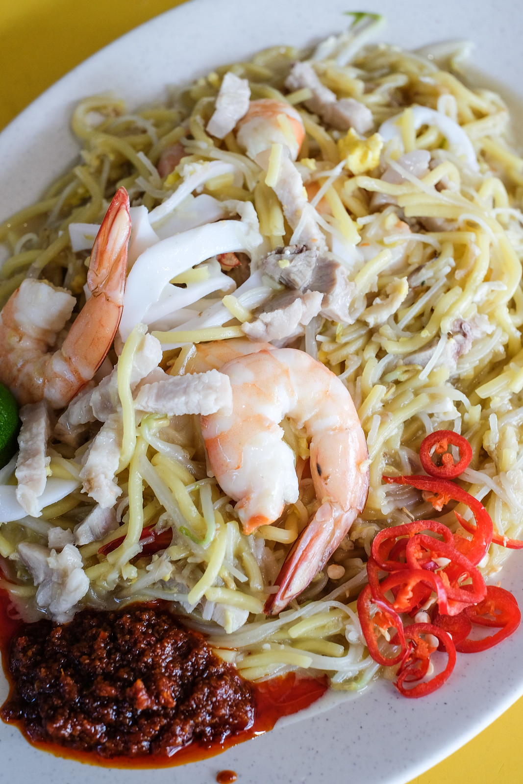 Havelock Road Blk 50 Fried Hokkien Prawn Mee