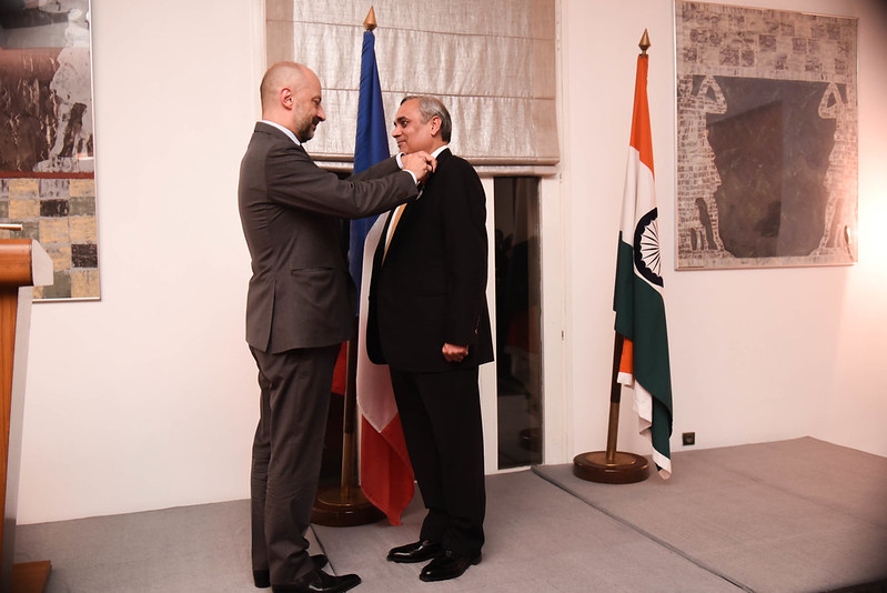 Highest French Distinction conferred on Shri Anil Chaudhry, Managing Director and Country President, Schneider Electric India