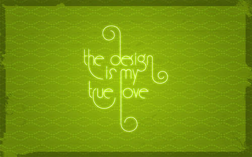The design is my true love | by Marco Recuero