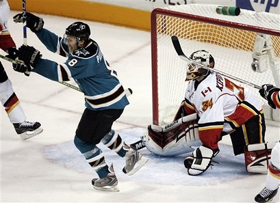 Flames Sharks Hockey | by Red Mile