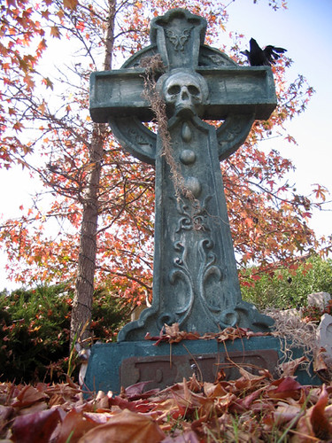 Celtic Cross Tombstone | by Love Manor