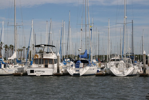 Sailboats waiting for sailors | by Jill Clardy