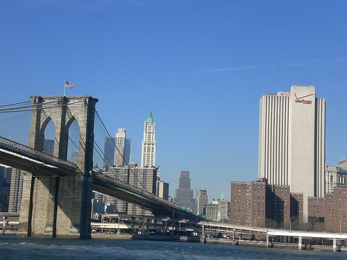Verizon Building & Brooklyn Bridge | by Bill Binns