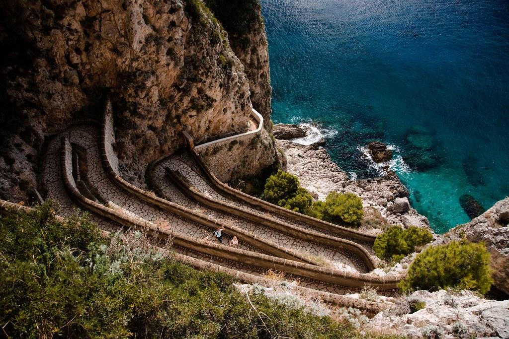 Via Krupp, Capri