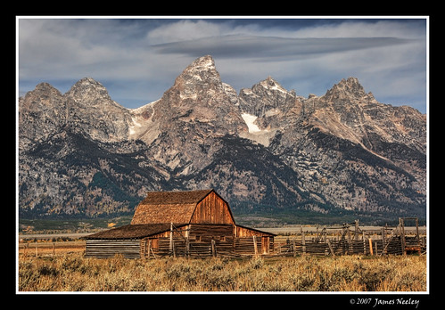 A Majestic Backdrop | by James Neeley