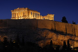 Greece - Athens - Acropolis at dusk | by Darrell Godliman