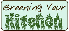 Greening Your Kitchen logo | by Eve Fox