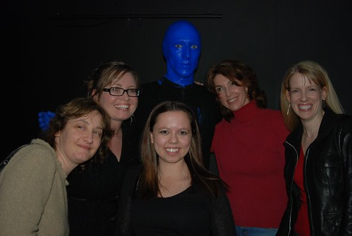 Pubcon Gals with Blue Man! | by storyspinn