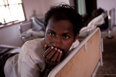 Man with AIDS in hospital. India | by World Bank Photo Collection