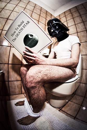 Darth Water Closet | by Matteo Dunchi