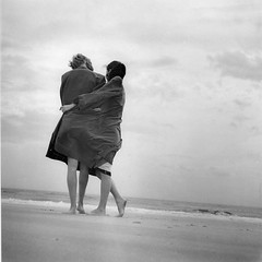 Beach Couple mid 1950's | by tompalumbo
