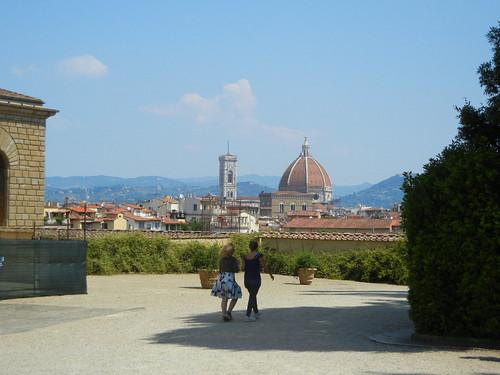 Florence from Boboli Gardens